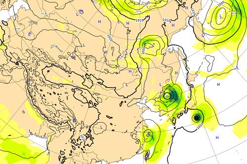台風13号,8日