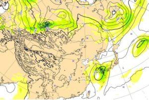 台風17号,23日