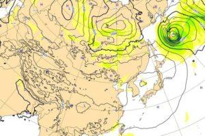 台風18号,6日