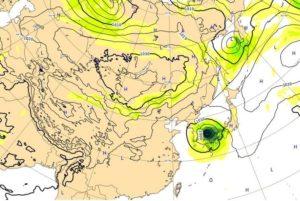 台風18号,3日