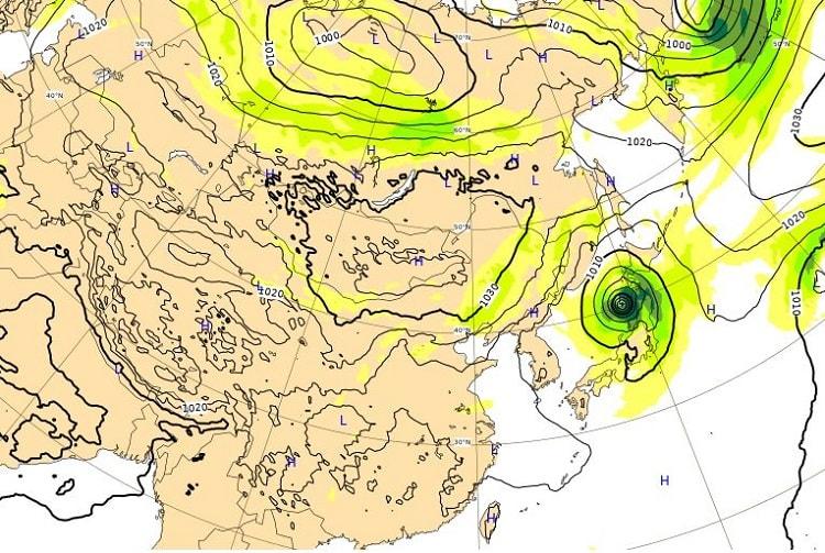 台風18号,4日