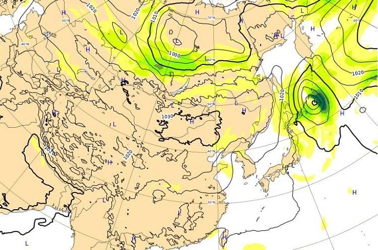 台風18号,5日