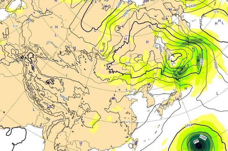 台風19号,9日