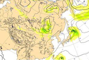 台風20号,19日