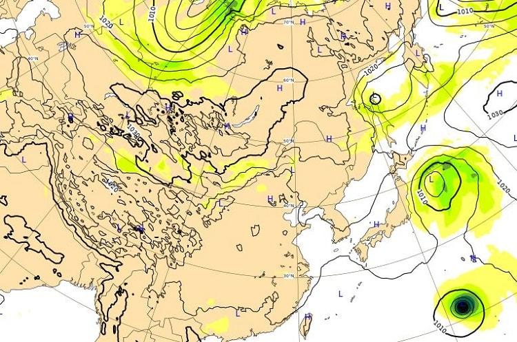 台風21号,23日2