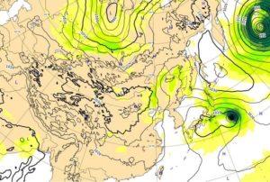 台風21号,25日2